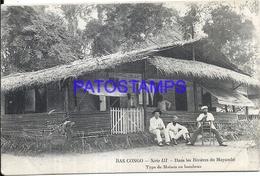 101747 AFRICA CONGO BELGE BELGIUM BELGISCH CONGO DAS RIVERS OF MAYUMBE POSTAL POSTCARD - Postcards