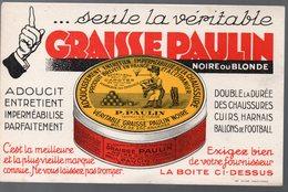 Buvard GRAISSE PAULIN   (PPP9557) - Shoes