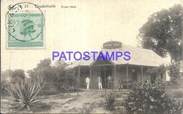 101749 AFRICA CONGO BELGE BELGIUM BELGISCH CONGO ELISABETHVILLE GREAT HOTEL POSTAL POSTCARD - Postcards