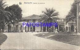 101750 AFRICA CONGO BELGE BELGIUM BELGISCH CONGO STANLEYVILLE BUSINESS DISTRICT POSTAL POSTCARD - Postcards