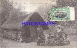 101751 AFRICA CONGO BELGE BELGIUM BELGISCH CONGO MPUTI COSTUMES NATIVE POSTAL POSTCARD - Postcards