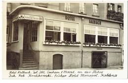 COCHEM / Mosel - Hotel Nalbach - 2 Scans - Cartes Postales