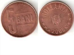 Romania 5 Bani 2005 Km 199 Unc - Roumanie