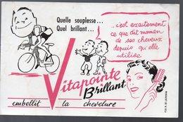 Buvard VITAPOINTE BRILLANT  (PPP9559) - Buvards, Protège-cahiers Illustrés
