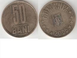 Romania 50 Bani 2005 Km 192  Unc - Roumanie
