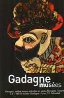 2016 - TICKET MUSEES GADAGNE - Histoire De Lyon Et De La Marionnette - Tickets D'entrée