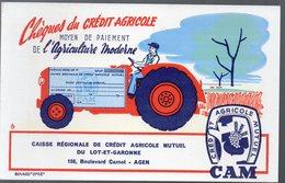Agen (47 Lot Et Garonne)  Buvard CREDIT AGRICOLE  (PPP9562) - Bank & Insurance