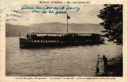 CPA Le Bateau La Savoie, Lac Du Bourget SHIPS (754834) - Bateaux