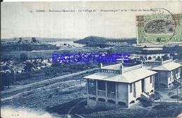 101757 AFRICA CONGO BELGE BELGIUM BELGISCH CONGO BOMA NEW NEIGHBORHOODS & MOUNT SAINT ESPRIT POSTCARD - Postcards