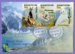 Kazakhstan 2018. FDC. Almaty State Natural Reserve. Fauna. - Kazakhstan