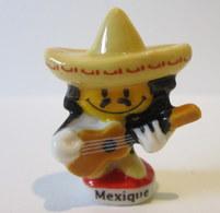 Fève Brillante  - Smiley Du Monde - Mexique - Characters