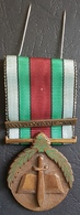 K1 - Lebanon, Military Decoration, Lebanese Medal Of Merit - Bronze, Vintage & Authentic - Medals
