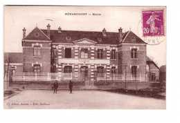 80 Meharicourt Mairie Cpa Carte Animée Cachet 1934 Edit Ballieux - Autres Communes
