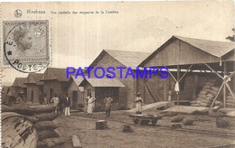 101761 AFRICA CONGO BELGE BELGIUM BELGISCH CONGO KINSHASA COSTUMES CONFINA STORES CIRCULATED TO ARGENTINA POSTCARD - Postcards