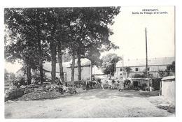 Sterpigny Sortie Du Village Et Le Lavoir Animée Rare Bon état édit Cordonnier Cachet Cherain - Gouvy