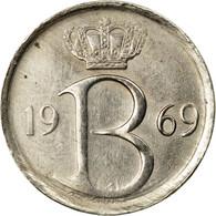 Monnaie, Belgique, 25 Centimes, 1969, Bruxelles, TTB, Copper-nickel, KM:153.1 - 02. 25 Centimes