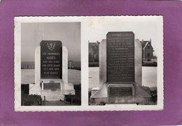 14 HERMANVILLE  Monument Commémoratif Du Débarquement Allié 5 Juin 1944 Oeuvre De M.Lucien Allaire Architecte - Autres Communes