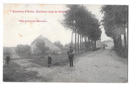 Environs D'arlon 7 Stockem Route De Heinchedit Lallemand Bon état 1909 - Arlon