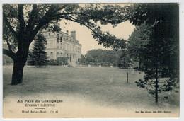 C. P.  PICCOLA  EPERNAY    AU  PAYS  DE  CHAMPAGNE     HOTEL  AUBAN-MOET   1916     2   (VIAGGIATA) - Epernay