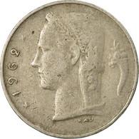 Monnaie, Belgique, Franc, 1962, TB, Copper-nickel, KM:142.1 - 1951-1993: Baudouin I