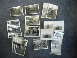 17 PHOTOS PRISONNIERS DE GUERRE WW2 FRANCAIS Du 12/05/1940 Au 24/06/1944 Lucien Delaleu De Vernou (37) STALAG V B - Guerre, Militaire