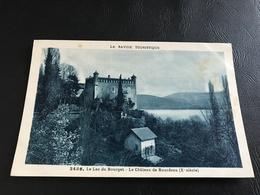2486 - «La Savoie Touristique» Le Lac Du Bourget - Le Chateau De Bourdeau (Xe Siecle) - France