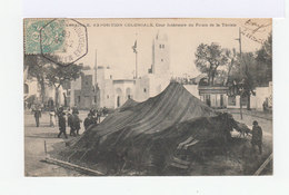 Carte Postale Marseille Vignette Exposition Coloniale. CAD Hexagonal Exposition Coloniale 1906. (762) - Marcophilie (Lettres)
