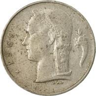 Monnaie, Belgique, Franc, 1960, TB, Copper-nickel, KM:143.1 - 1951-1993: Baudouin I