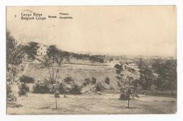 Belgisch Congo Belge Boma Plateau Hoogvlakte Postkaart Carte Postale EP Leopoldville - Kinshasa - Léopoldville