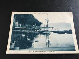 4567 Bis - «La Savoie Touristique»  LE BOURGET DU LAC Le Port - Le Bourget Du Lac