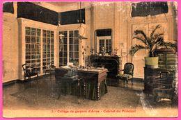 Carte Toilée - Collège De Garçons D'Arras - Cabinet Du Principal - 1929 - Arras