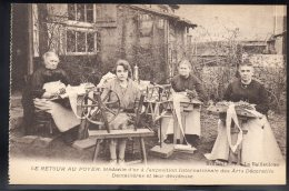 BAILLEUL 59 - Le Retour Au Foyer - Ecole Dentellière - Médaille D'Or Arts Décoratifs - Dentellières Et Leur Dévideuse - France
