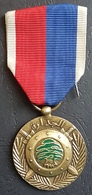 K1 - Lebanon, Military Decoration, Medal Of Competence - Vintage & Authentic - Scarce - Medals
