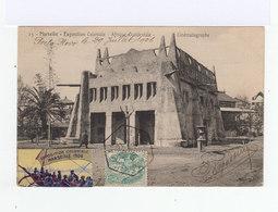Carte Postale Marseille Vignette Exposition Coloniale. CAD Hexagonal Exposition Coloniale 1906. (765) - Cachets Manuels