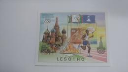 Lesotho-moscow Olympics 1980-(m1.40) - Lesotho (1966-...)