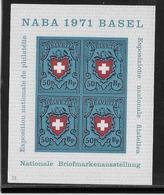 Suisse - Bloc N°21 - Neuf** Sans Charnière - TB - Blocks & Kleinbögen