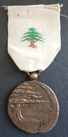 K1 - Lebanon, Military Decoration, Order Of Public Instruction - Vintage & Authentic - Scarce - Medals