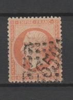 FRANCE / 1862 / Y&T N° 23 : Napoléon III Second Empire 40c Orange - Choisi - 1862 Napoleon III