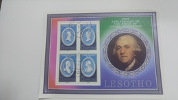 Lesotho-250th Anniversary Of The Birth Of Josiah Wedgwood(4stamps)-(40s) - Lesotho (1966-...)