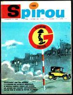 "SPIROU N° 1486 - Année 1966 - Couverture ""GASTON LAGAFFE"" De FRANQUIN. - Spirou Magazine"