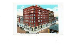 Cpa - Maine Portland - CONGRESS SQUARE HOTEL - PEACOCK Paon - - Portland