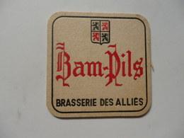"""Sous-bocks Brasserie Des Alliés """"Moto-cross De Thuin (Belgique) Le 3 Juin 1968"""". - Sotto-boccale"""