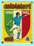 CALCIATORI 1984 1985  EDIS , POCHETTE NEUVE .  SEALED - Edizione Italiana
