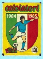 CALCIATORI 1984 1985  EDIS , POCHETTE NEUVE .  SEALED - Panini