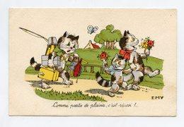 "EMY  .  Chats . Cats . Katze . """" BOURET """" - Bouret, Germaine"