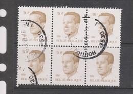 COB 2126 Oblitéré Bloc De 6 - 1981-1990 Velghe