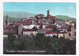 Castiglion Fiorentino M. 333 - Panorama - Circulé 1972 - Arezzo