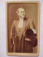 Photographie Ancienne CDV - Portrait D'un Magistrat - Juge - Photographie Villevieille, Aix-en-Provence - TBE - Photographs