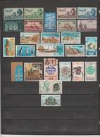25 TIMBRES P.A. EGYPTE OBLITERES  DE 1933-1941-1947-1953-1959-1961-1963-1971 - Aéreo