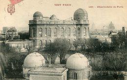 OBSERVATOIRE(TOUT PARIS) - Astronomie
